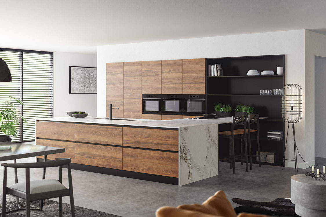Moderne Warme Keuken : City chic keller keukens